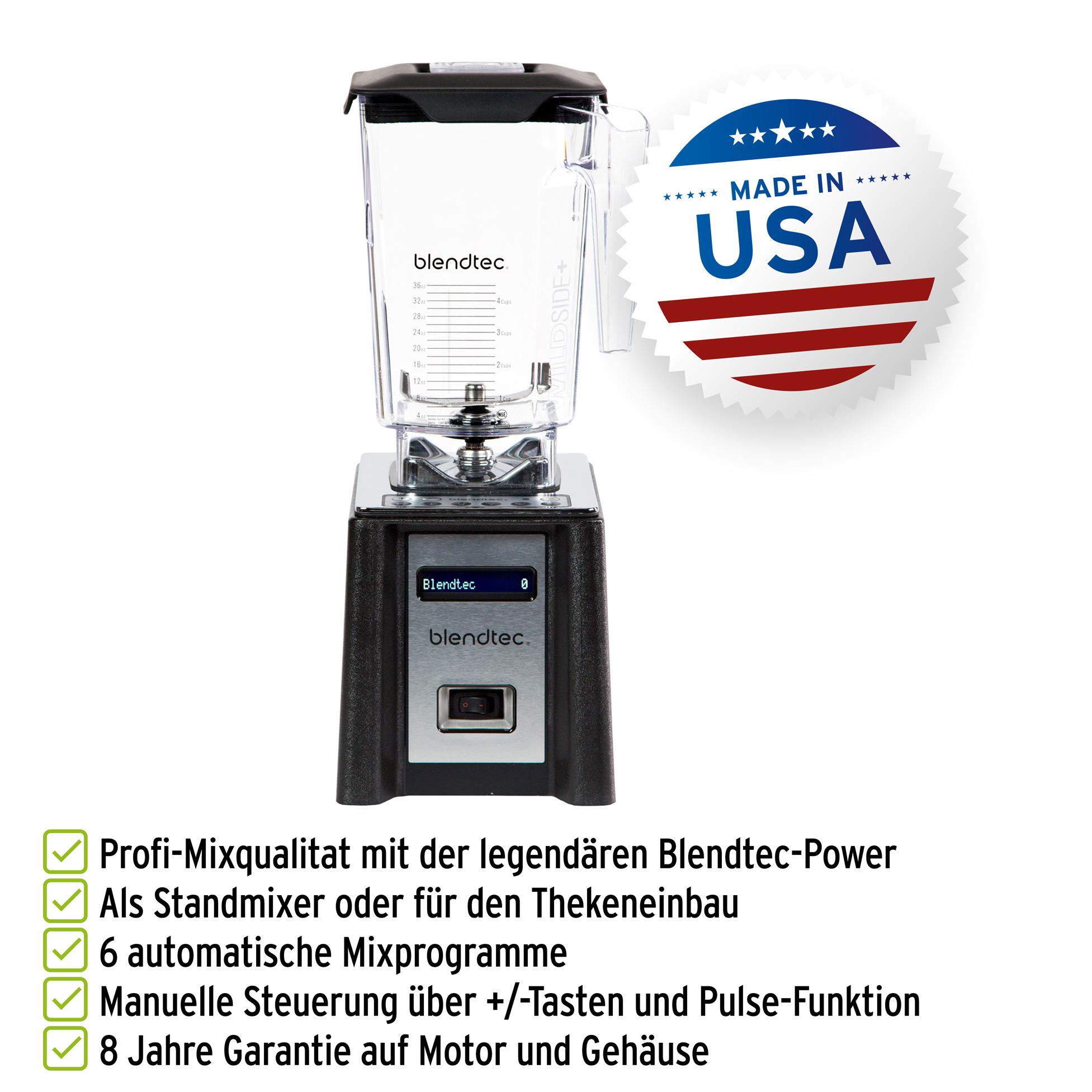 Blendtec Professional 750 Mixer inkl. WildSide+ Behälter