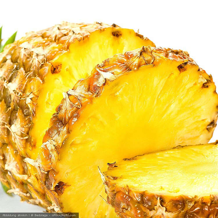 Ananas-Stücke First Class 2 kg