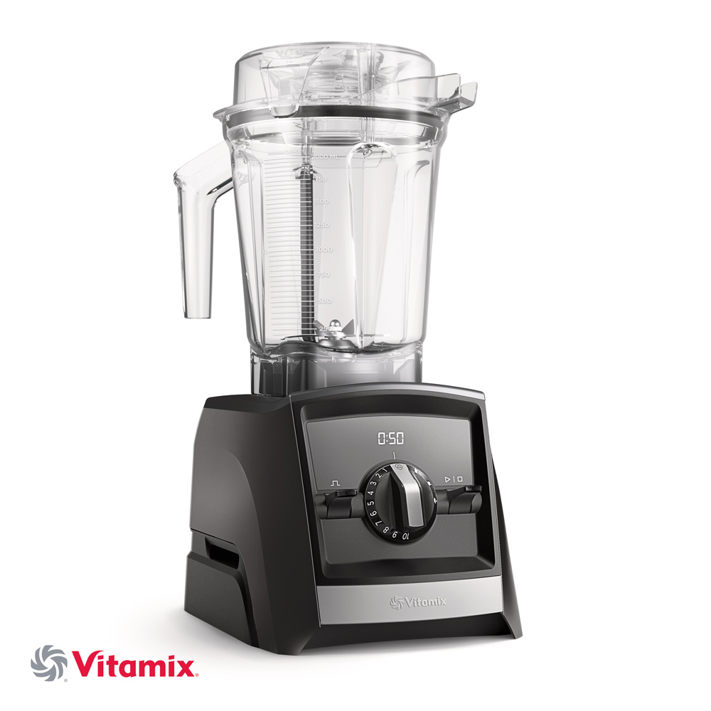 Vitamix ASCENT A2500i schwarz mit 225ml Behaelter