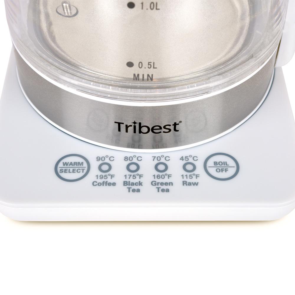 Tribest Wasserkocher GKD-450 mit Schweizer Adapter