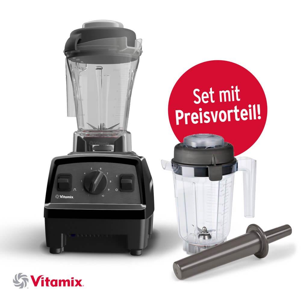Vitamix Super-Set Explorian E310 0.9L Trockenbehälter mit Schweizer Stecker