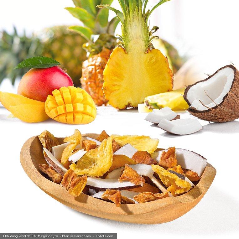 Keimling Mix Suedseetraum aus Ananas Mango und Kokosnuss