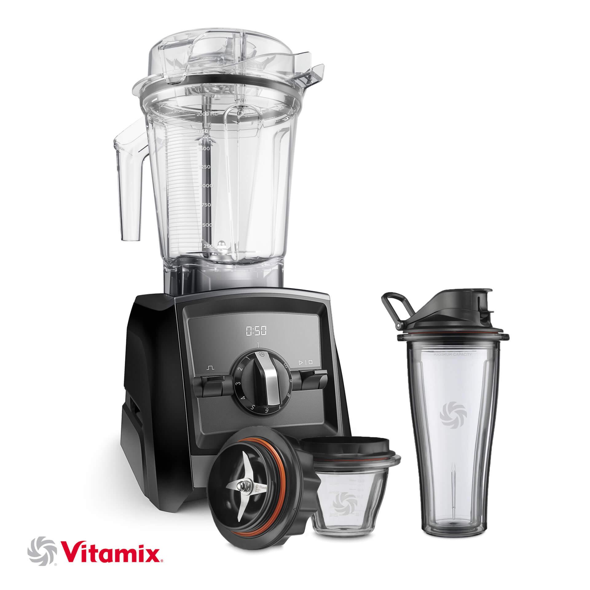 Vitamix A2300i schwarz Starter-Kit