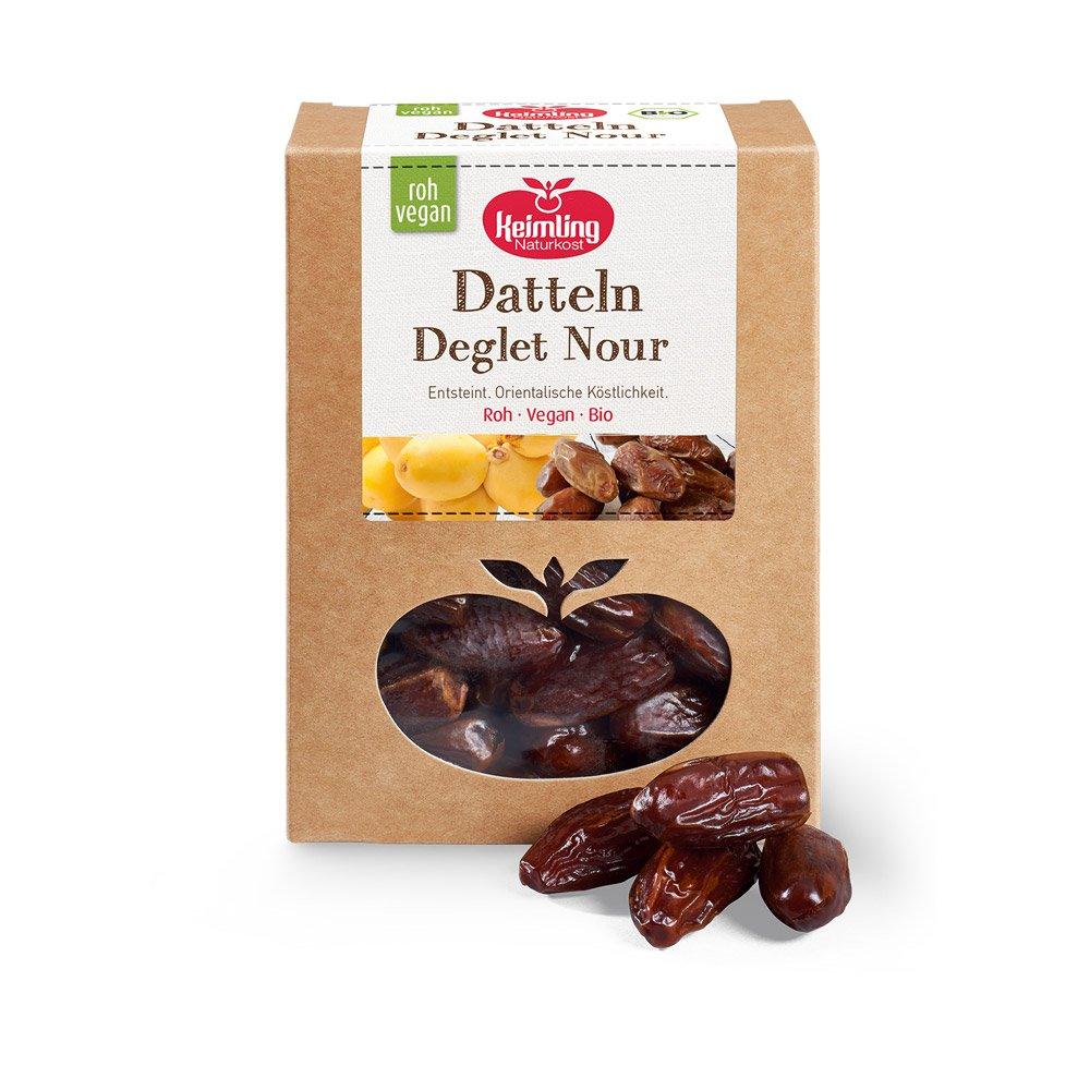 Datteln Deglet NourSupreme mit Verpackung