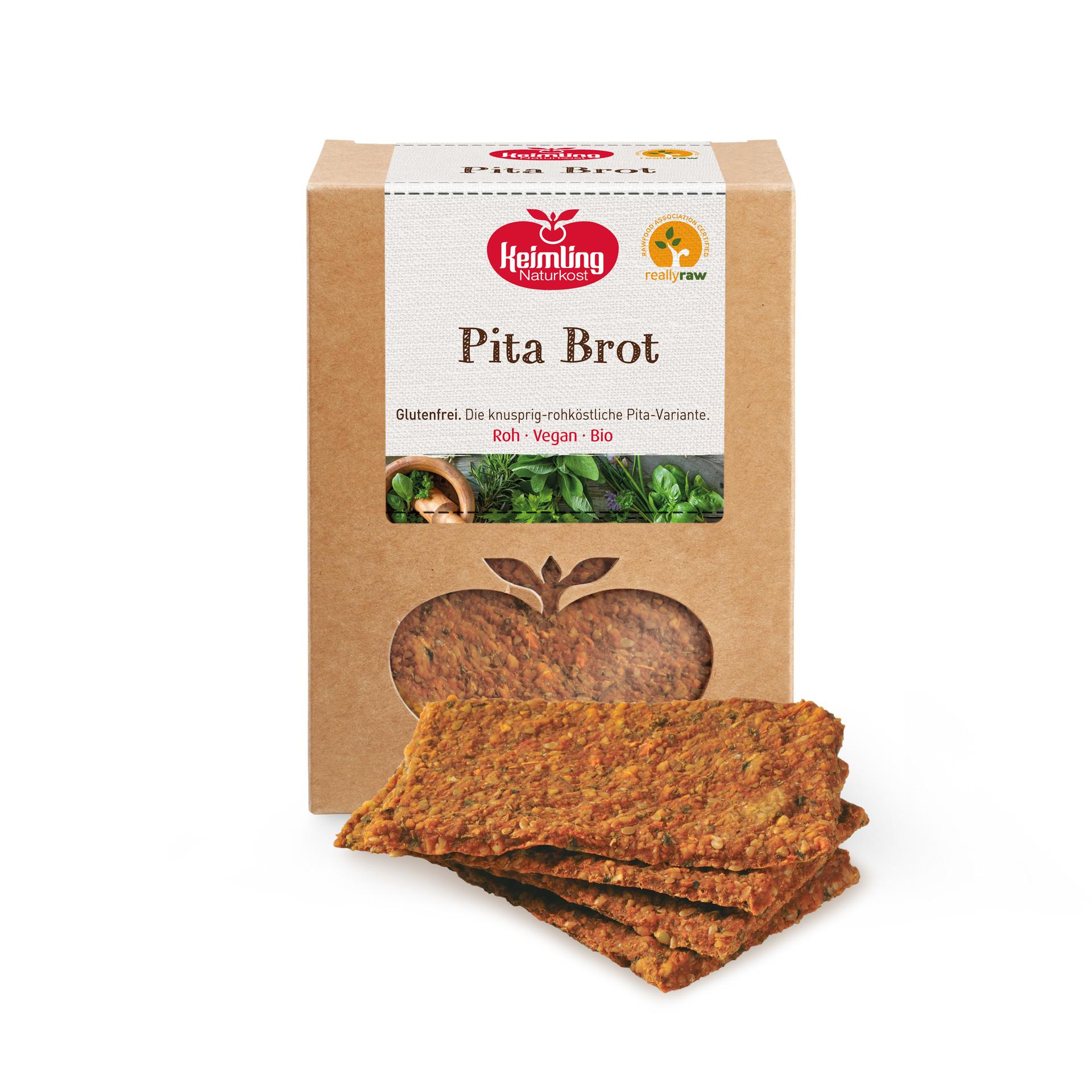 Italienisches Pita Brot von Keimling Naturkost, really-raw zertifiziert