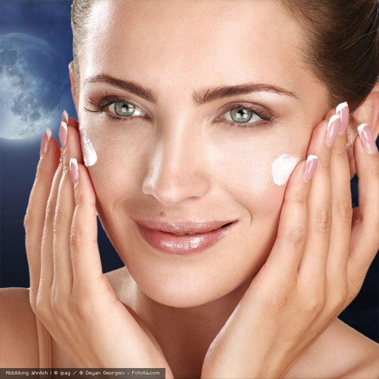 Hautpflege auch nachts mit der basischen Nachtcreme