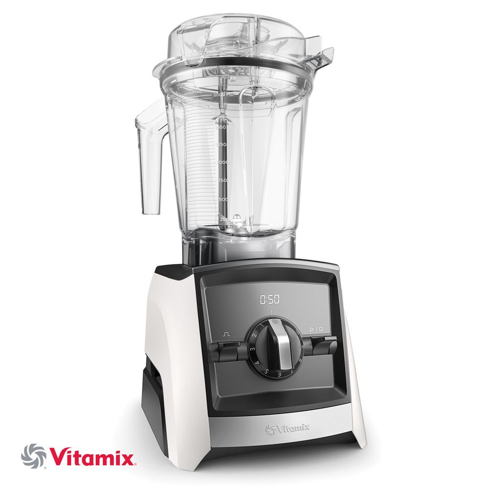 Vitamix Ascent A2300i weiß mit Schweizer Stecker