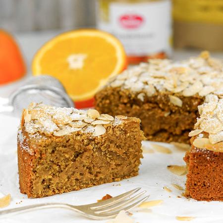 Orangen-Mandel-Kuchen nicht nur für Kuchenliebhaber