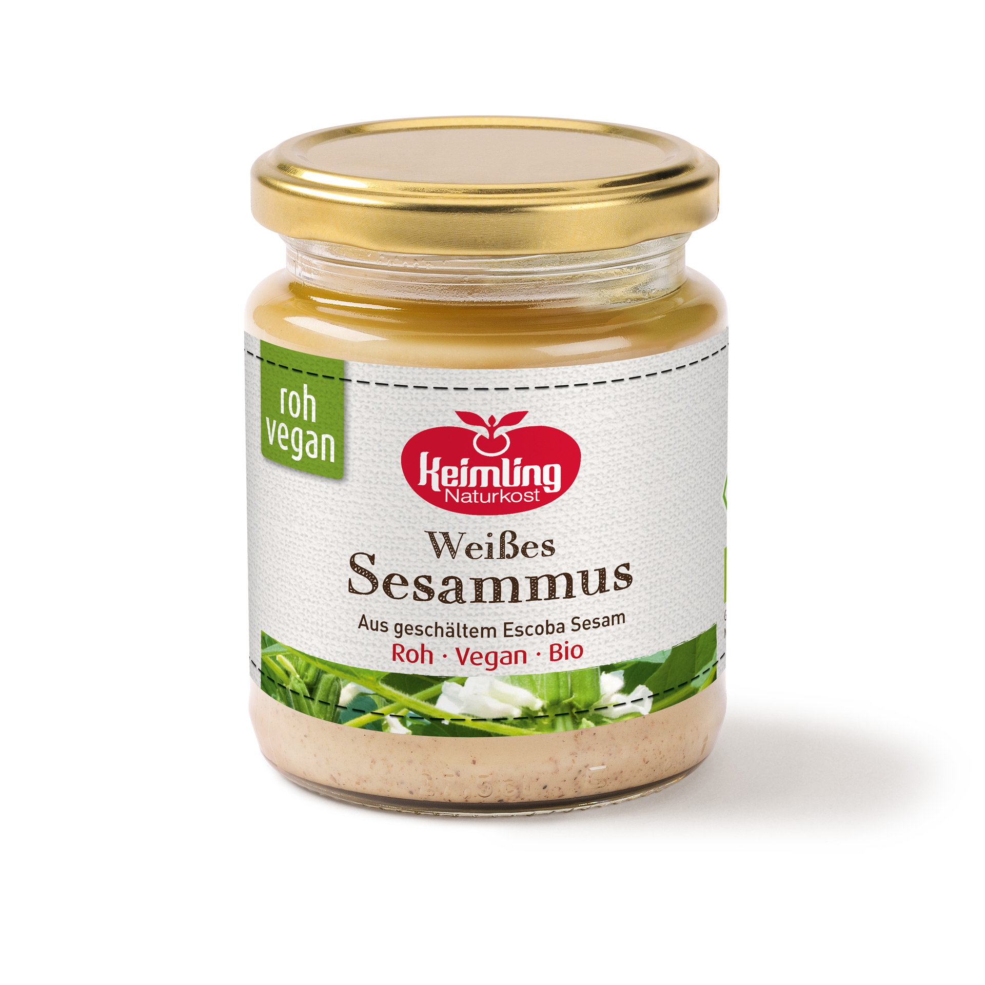 Weißes Sesammus Tahini 250 g
