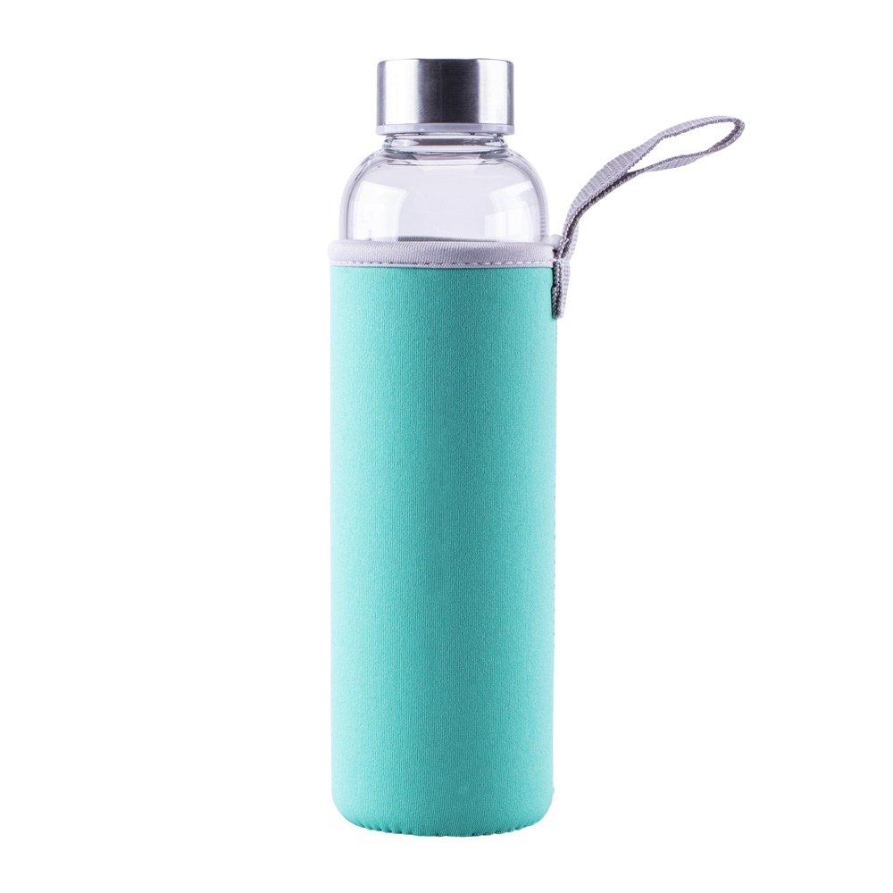 Steuber Glastrinkflasche Tuerkis