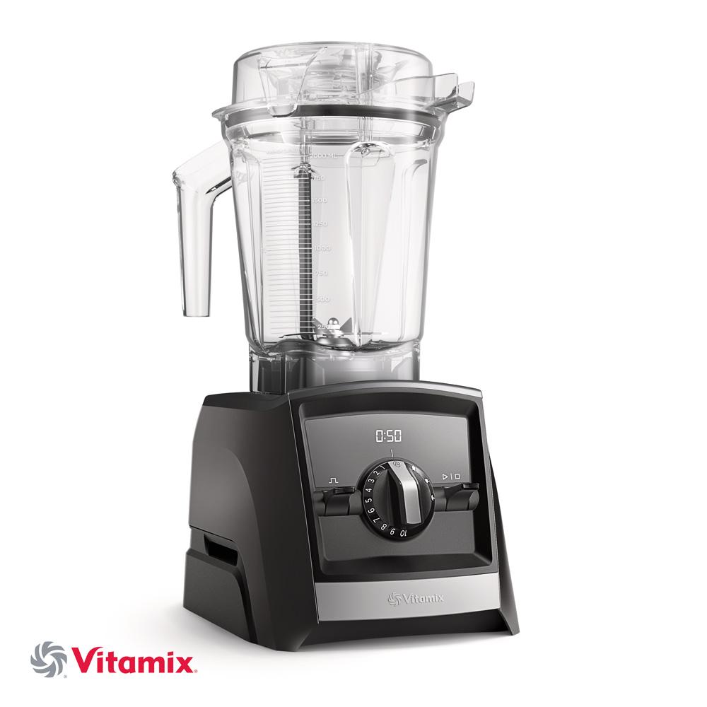 Vitamix ASCENT A2500i schwarz mit 600ml Behaelter