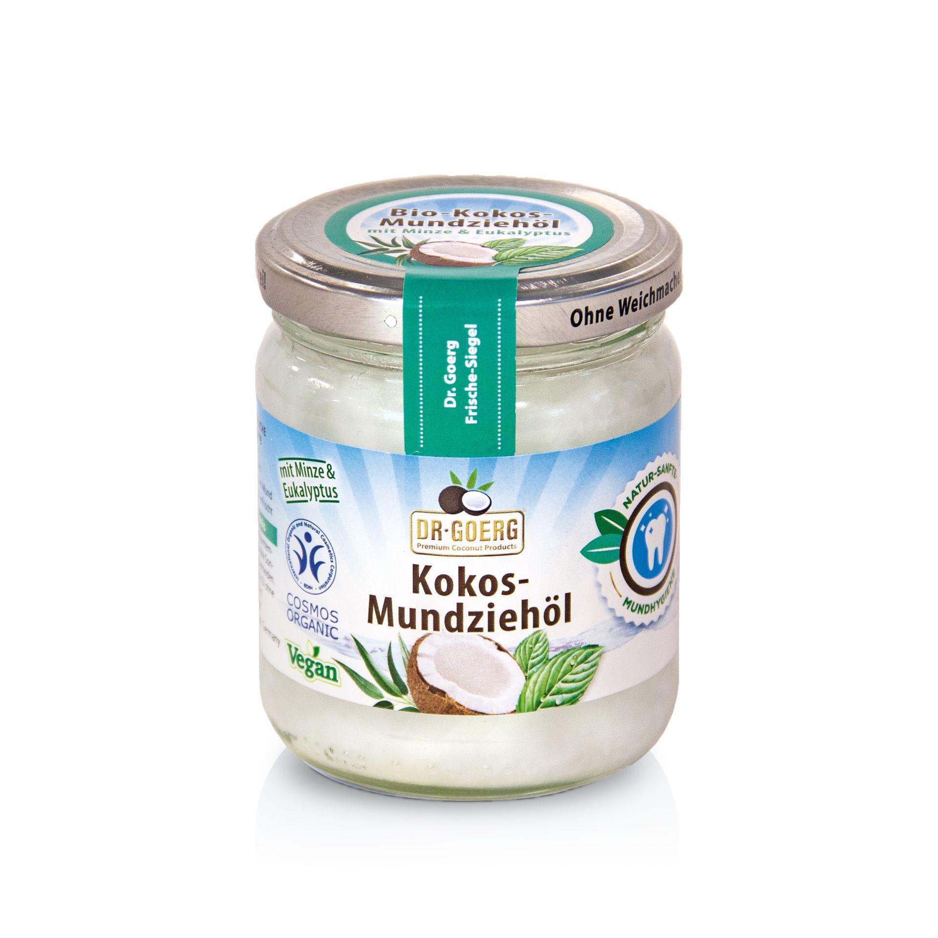 Dr Goerg Premium Bio-Kokos-Mundziehoel