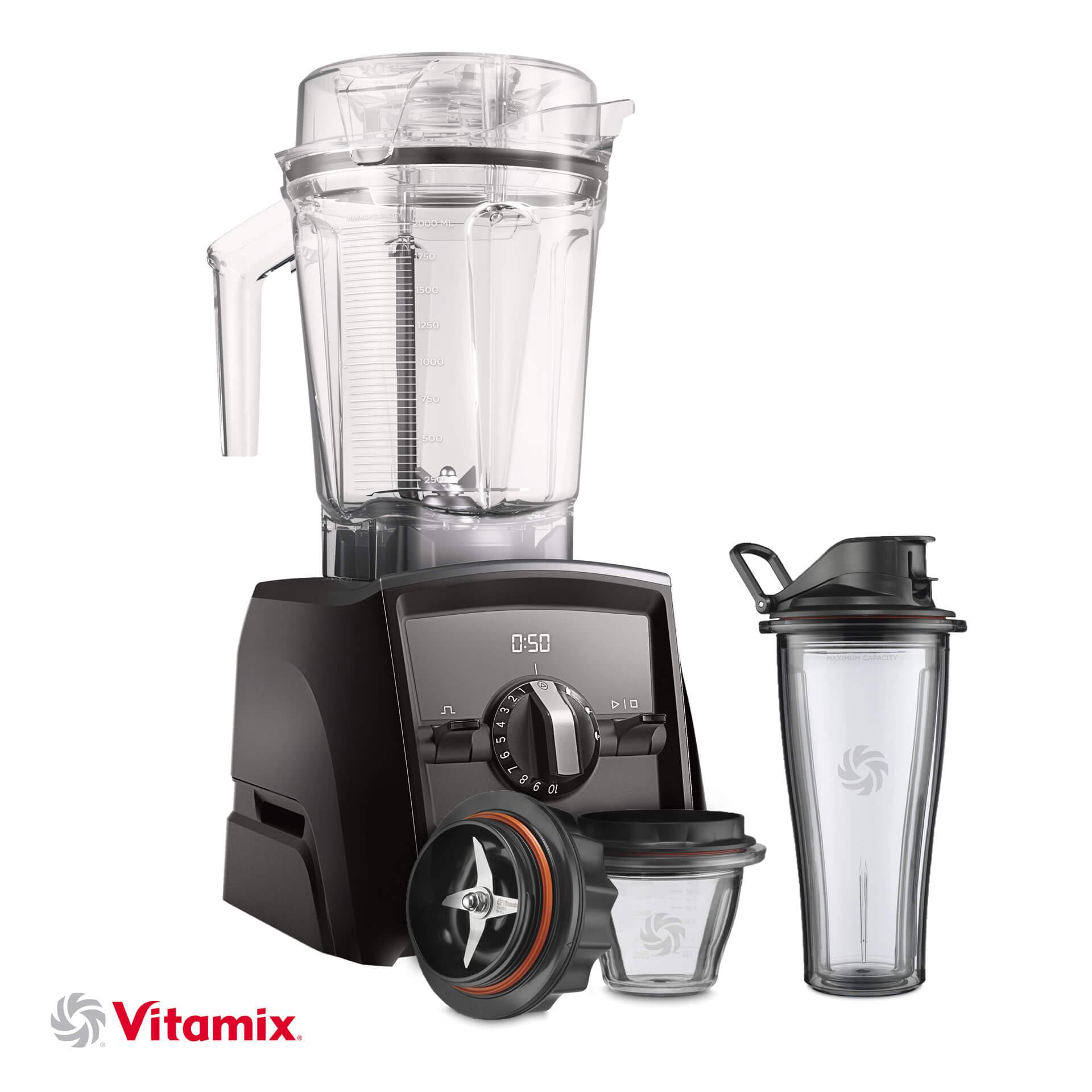 Vitamix A2500i schwarz Starter-Kit