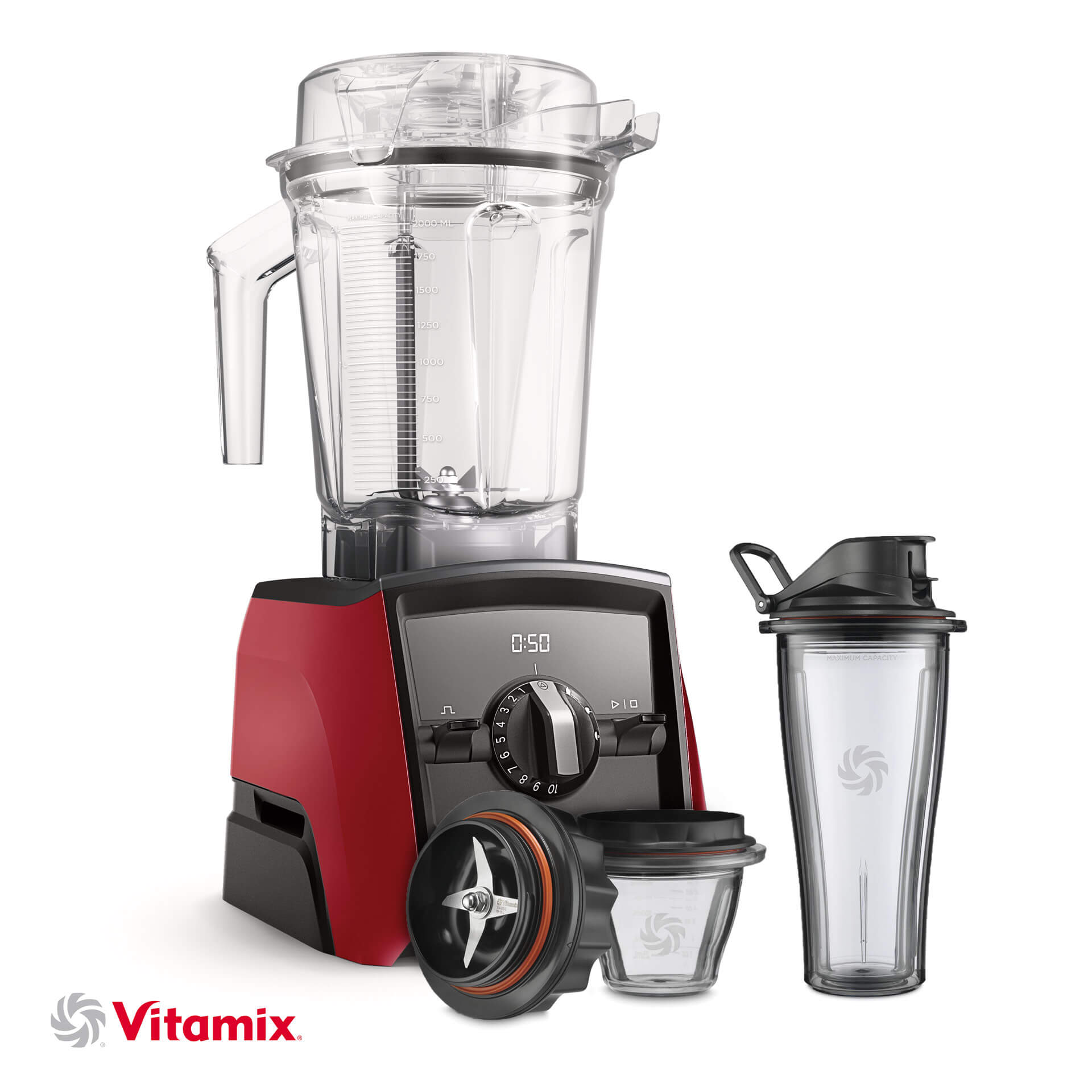 Vitamix A2500i rot Starter-Kit