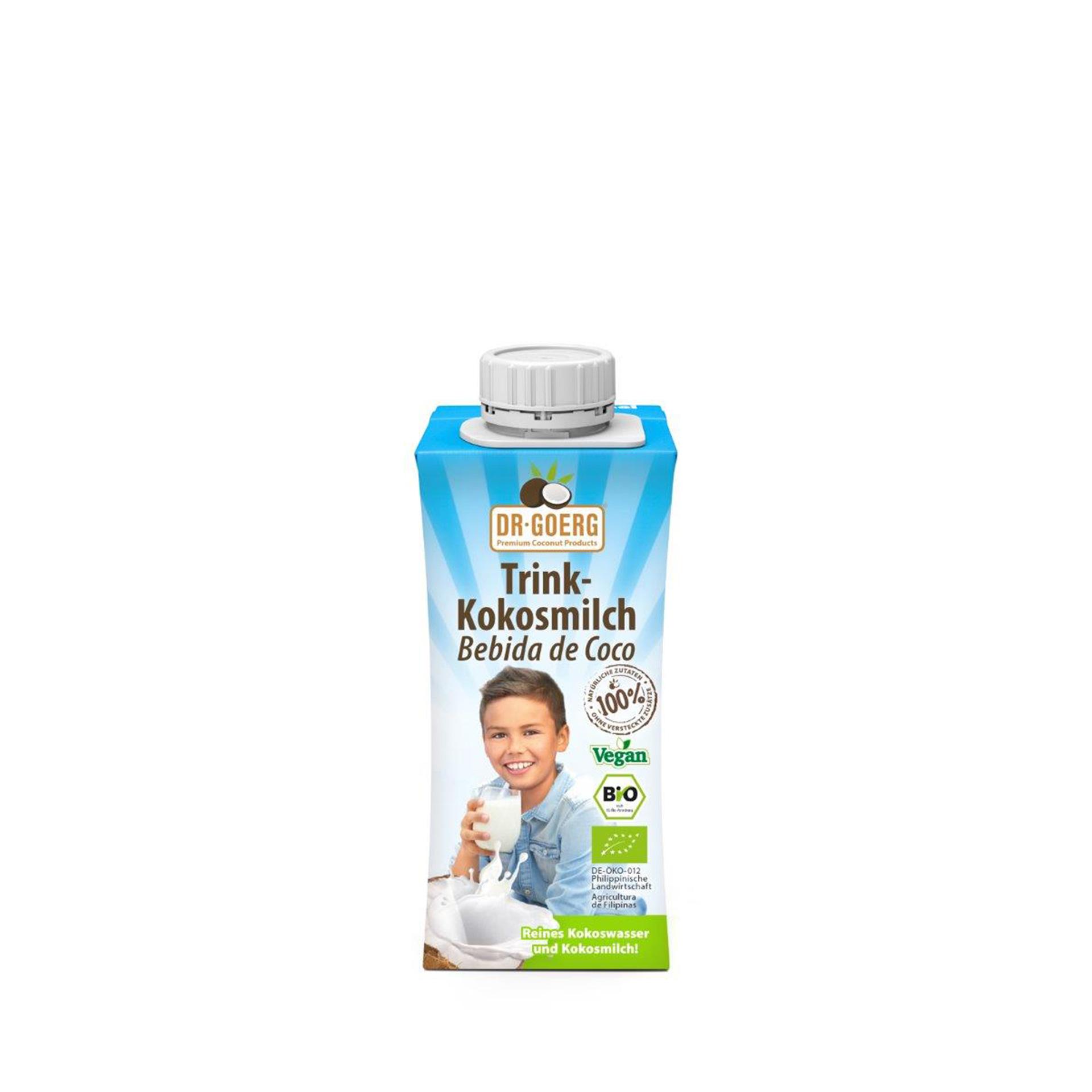 Dr. Goerg Trinkkokosmilch 200 ml oder 1000 ml im 3er Pack
