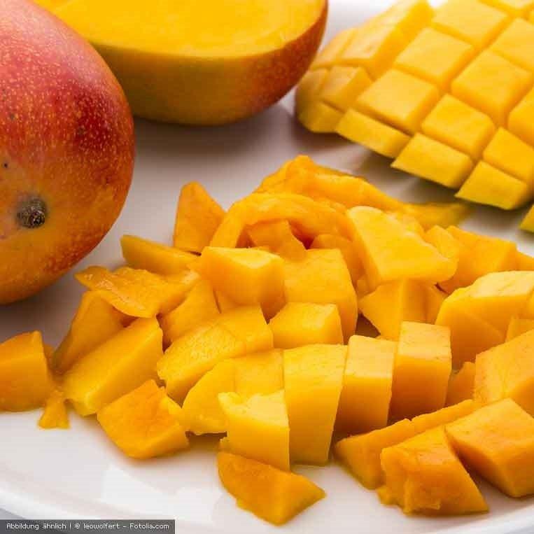 frische Mangostuecke