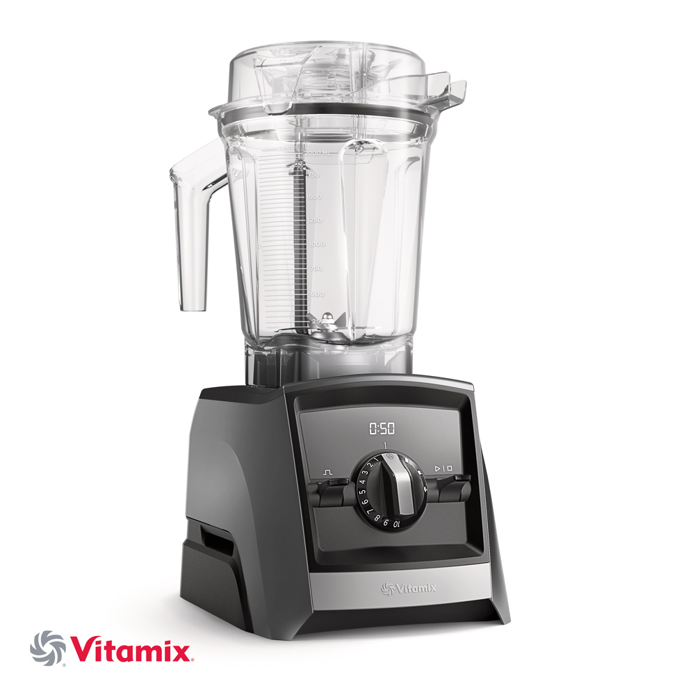 Vitamix ASCENT A2500i schiefergrau mit 600ml Behaelter